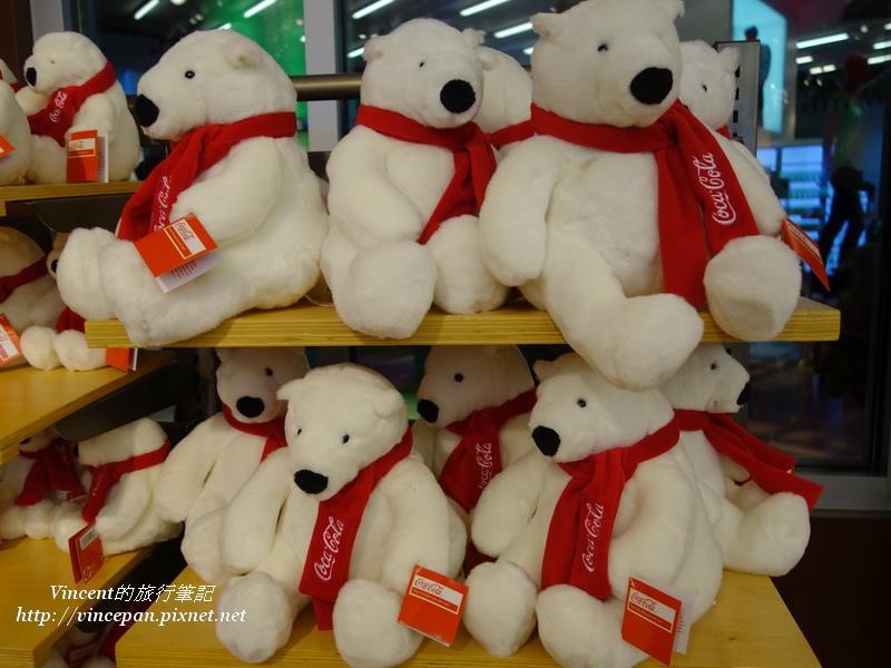 北極熊紀念品