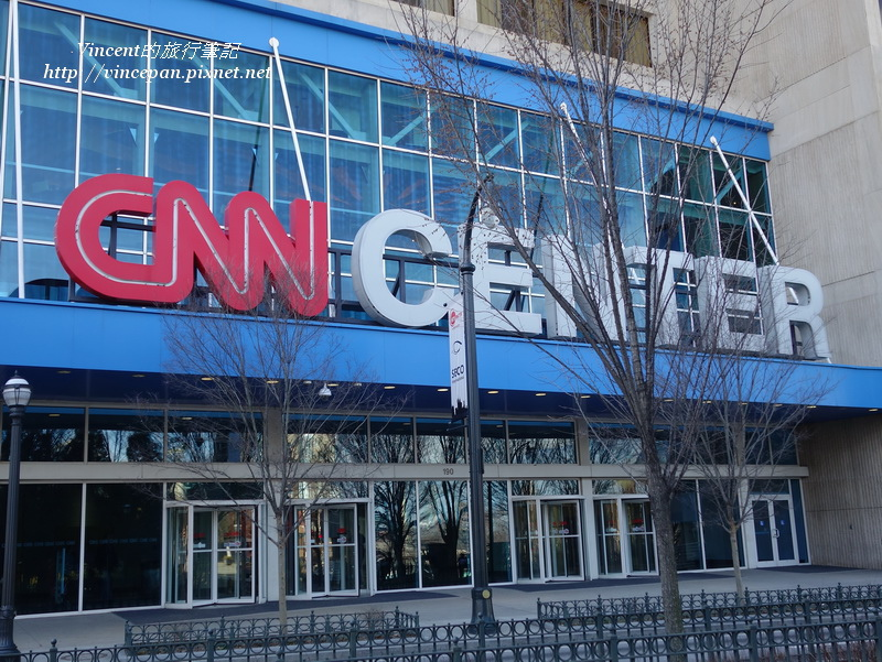 CNN Center 門口
