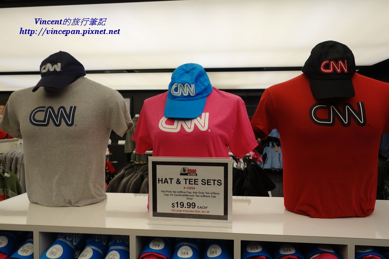 CNN紀念品 衣服