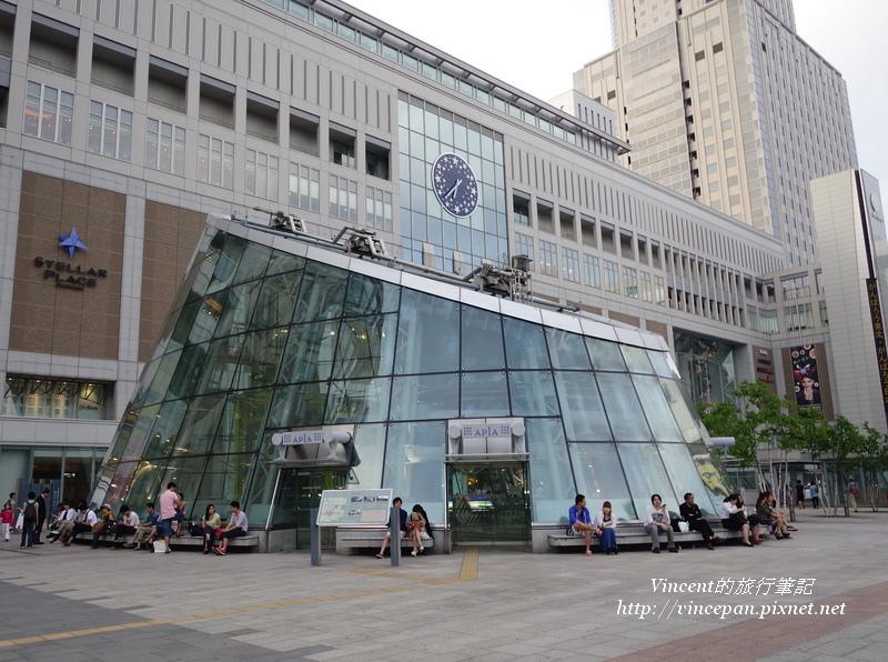 札幌駅前 玻璃屋