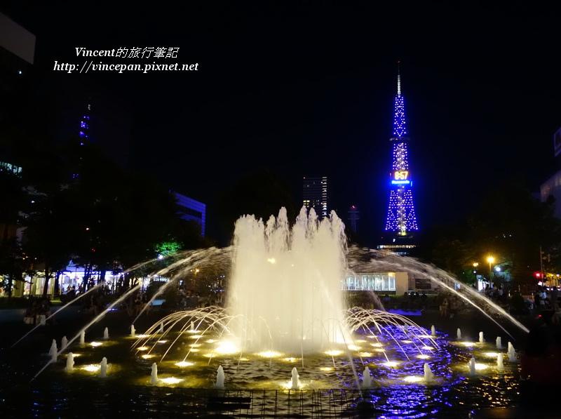 大通公園 噴泉1