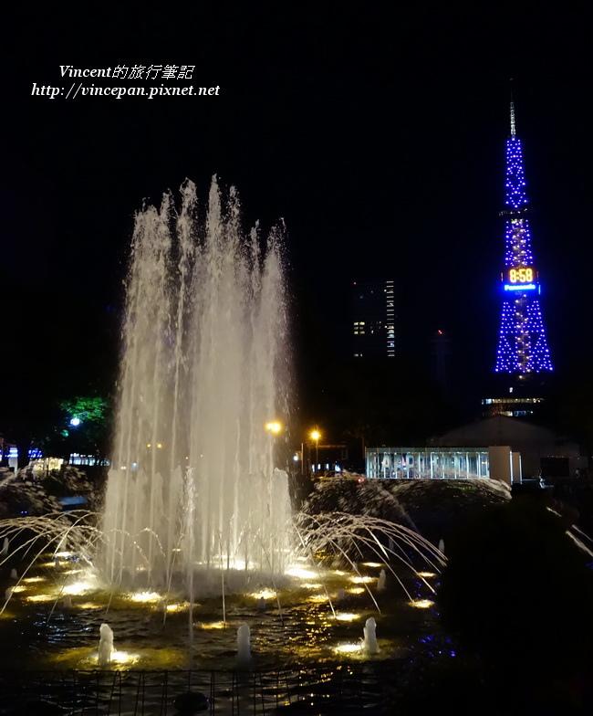 大通公園 噴泉3