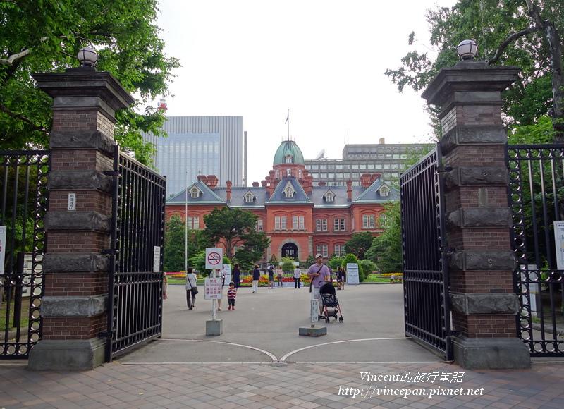 北海道舊道廳 大門