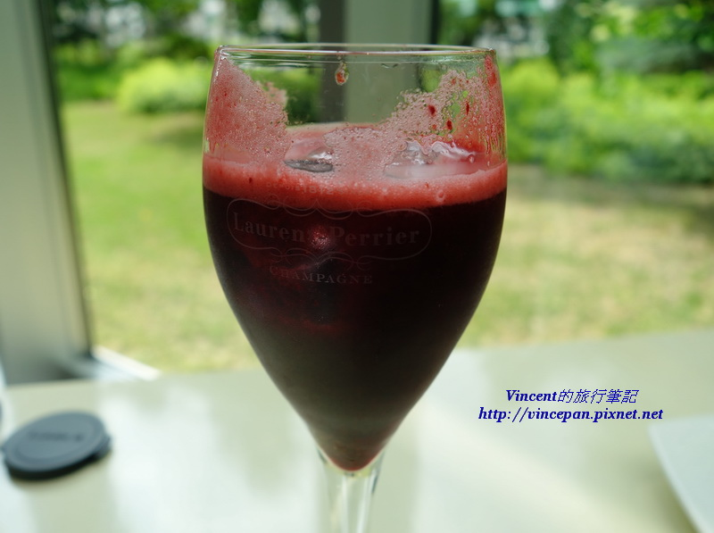 Hascap莓果的果汁
