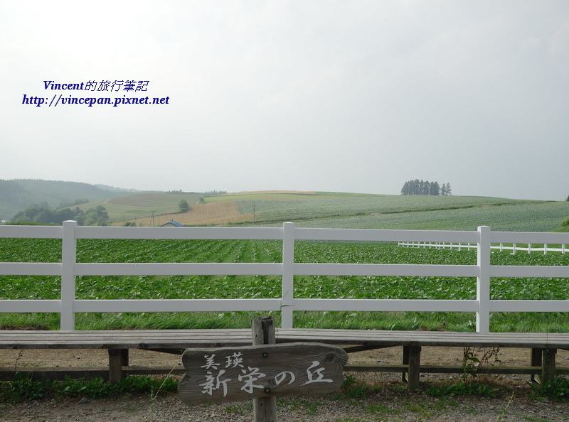 新榮之丘 立牌