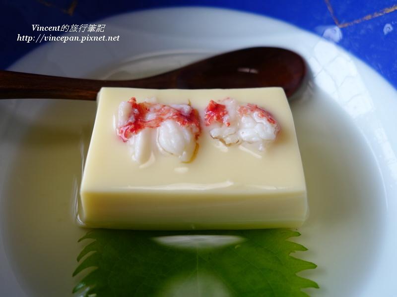 雞蛋豆腐 蟹肉