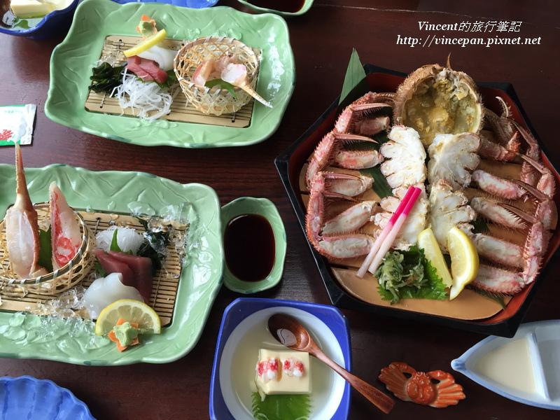 螃蟹本家 套餐