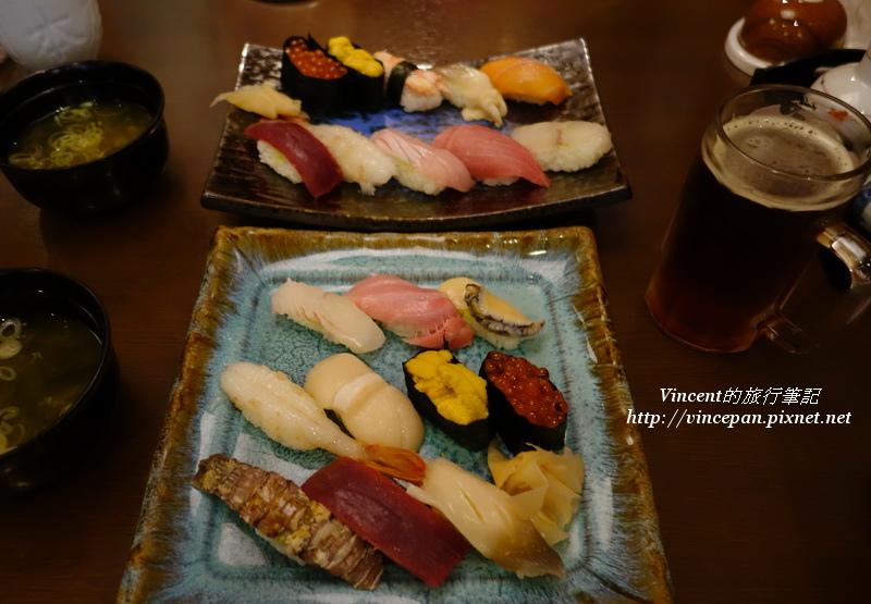 壽司套餐兩份