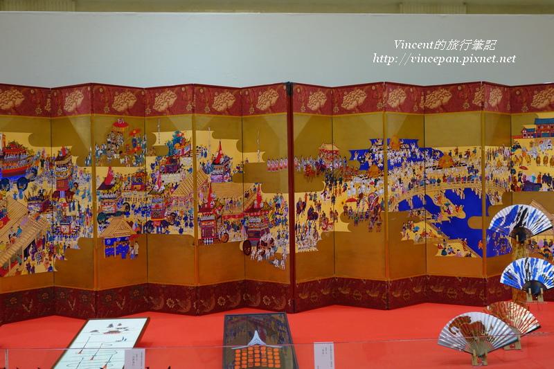 祇園祭屏風1