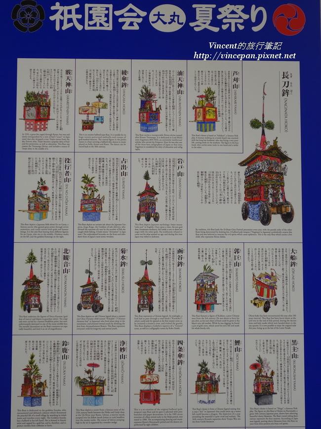 祇園祭海報 山鉾介紹