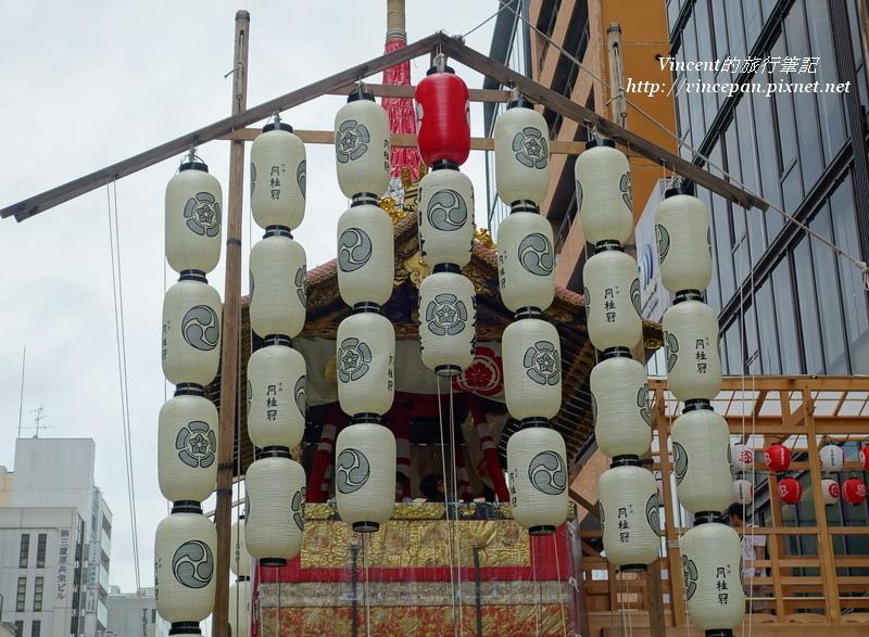 函谷鉾 燈籠