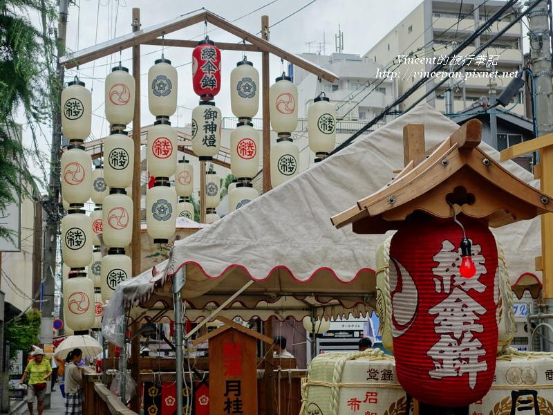 綾傘鉾燈籠