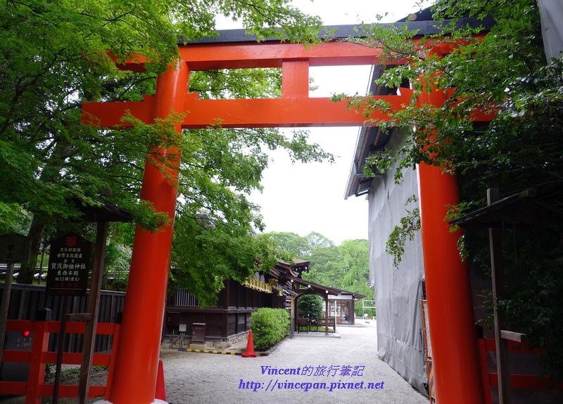 下鴨神社的側門