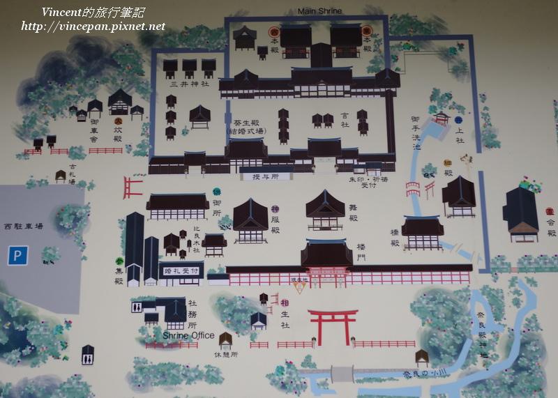 下鴨神社地圖