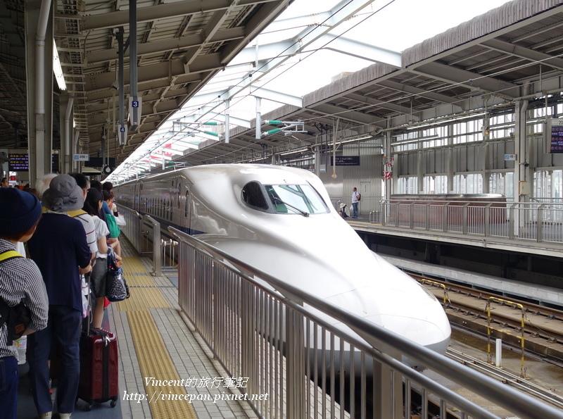 新大阪搭新幹線