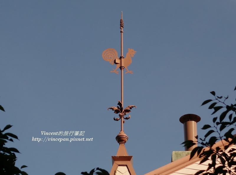 屋頂上的風見雞