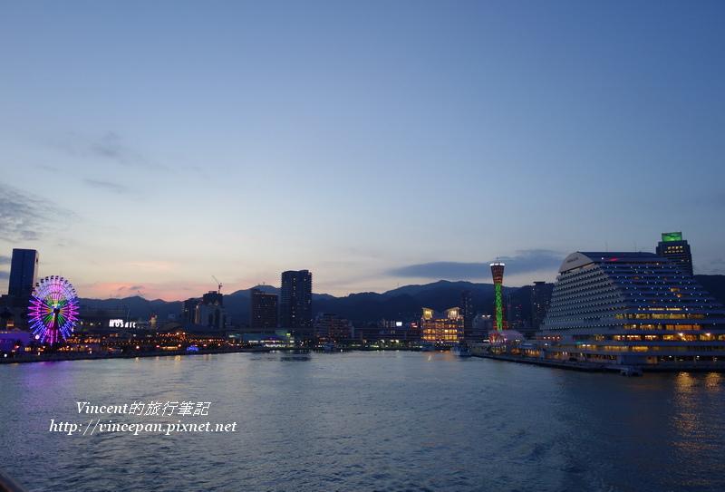 港區全景  夜