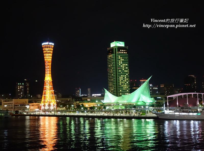 神戶港區  3建築 夜1