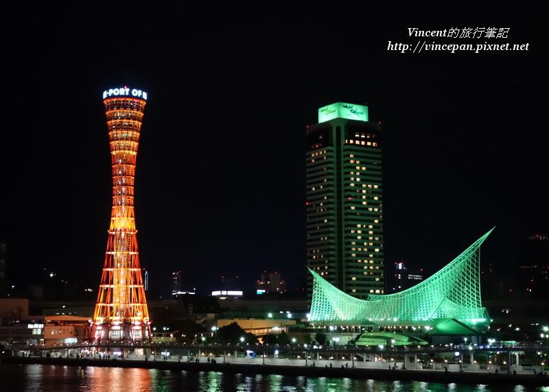 神戶港區  3建築 夜2