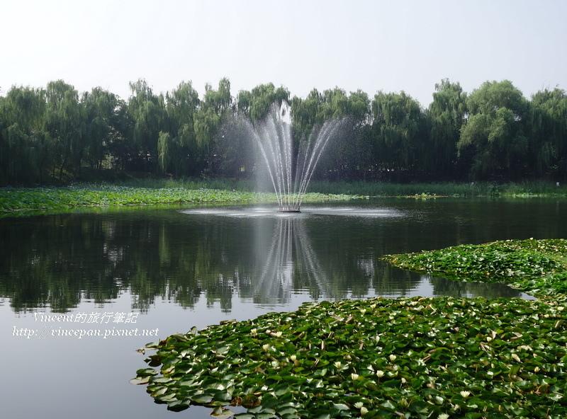 綺春園西側湖噴泉