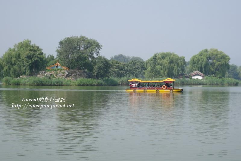 福海湖中蓬島瑤台