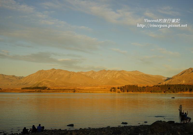 堤卡波湖夕陽