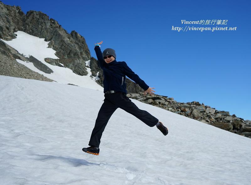 庫克山冰河跳躍