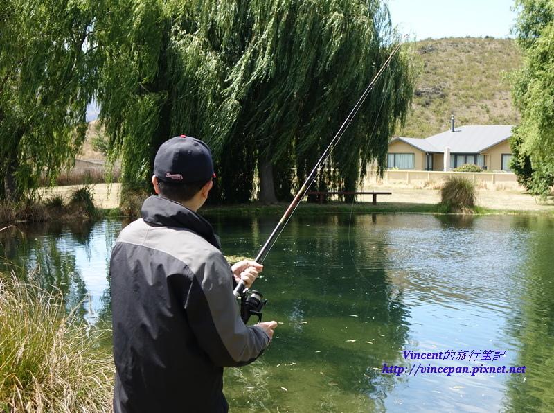 釣起國王鮭魚