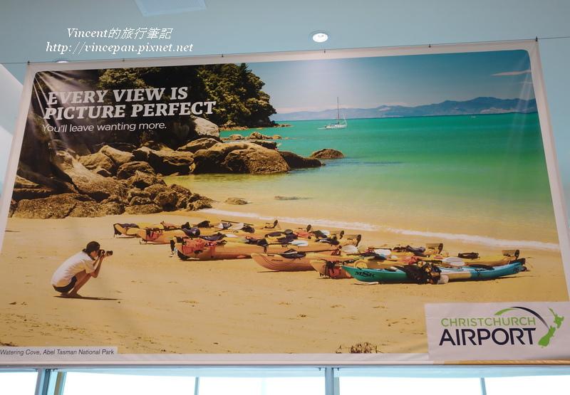 Christchurch機場廣告
