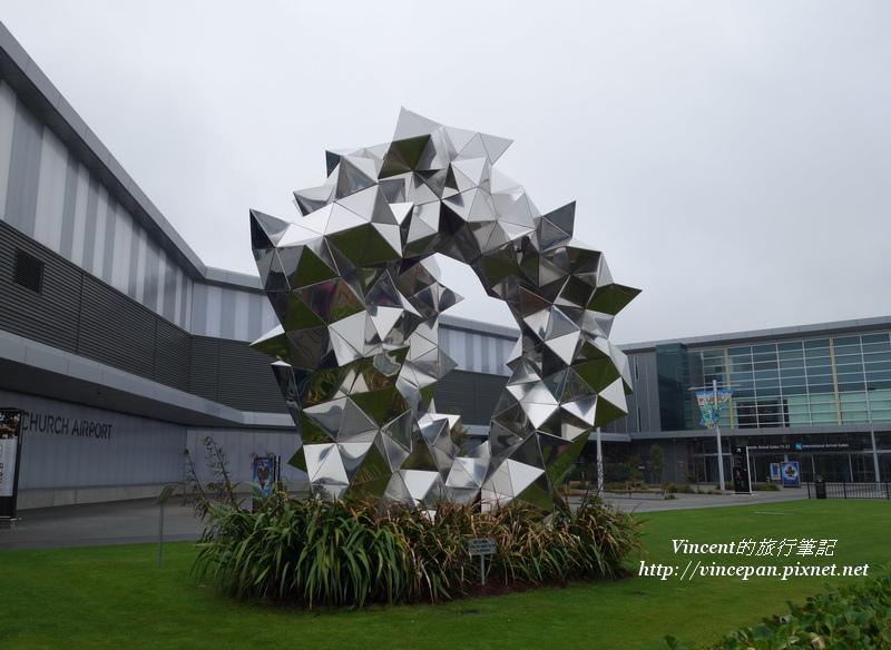 Christchurch機場 裝飾