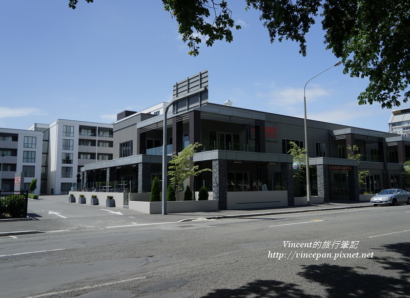Rydges Latimer Christchurch與餐廳