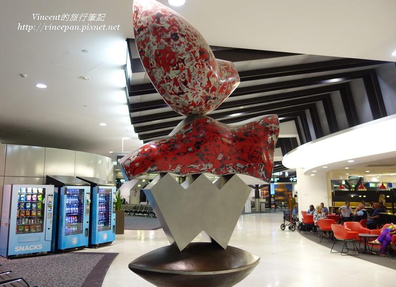 墨爾本機場裝飾