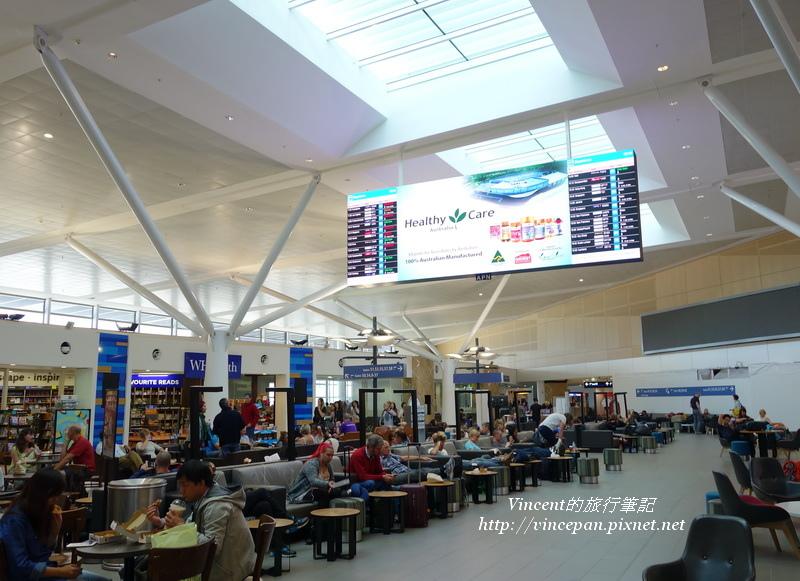 雪梨機場候機室
