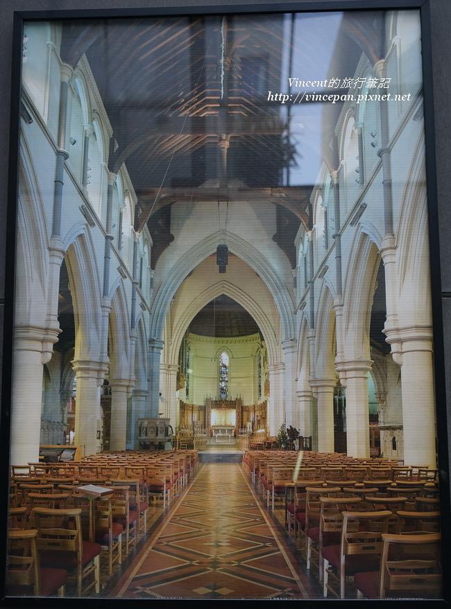 基督城大教堂內部  海報