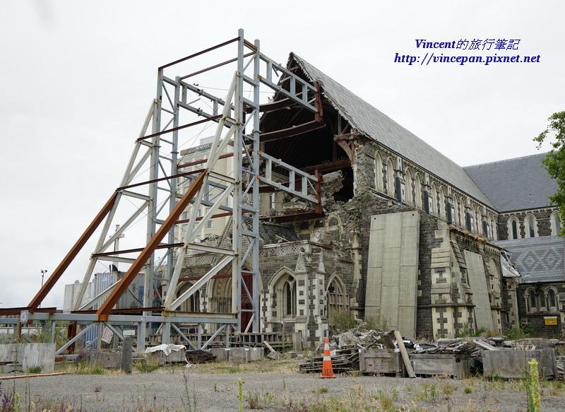 基督城大教堂  鋼構2