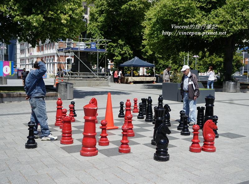 巨型西洋棋盤