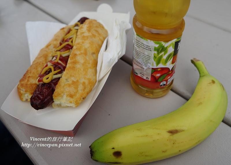 德國香腸 香蕉