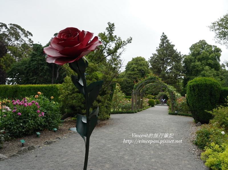 玫瑰花園 入口