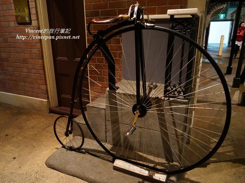古典的腳踏車