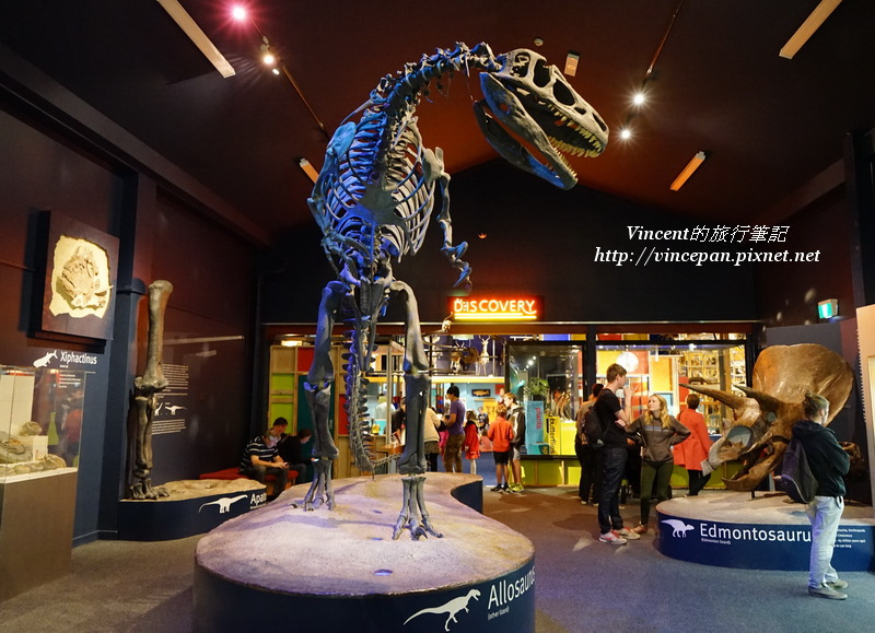 恐龍骨骼化石