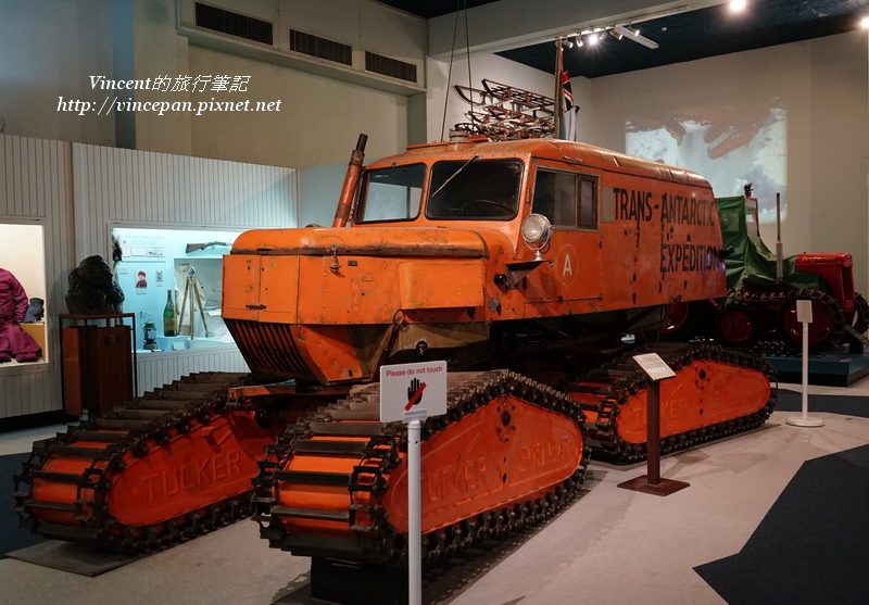 南極探勘的機具
