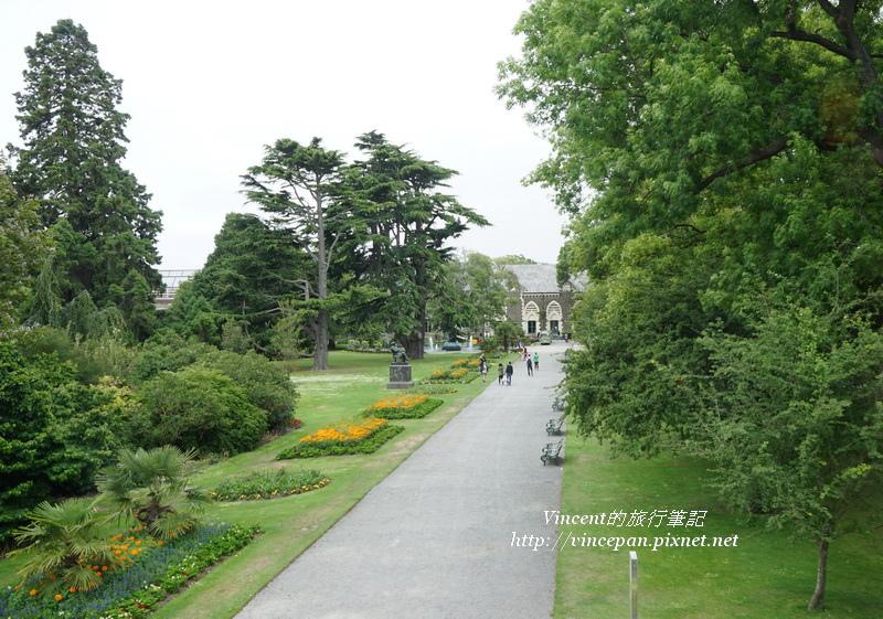 外面的植物園