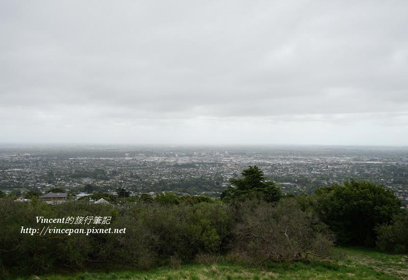 眺望基督城市區