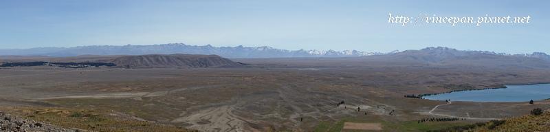 庫克山全景