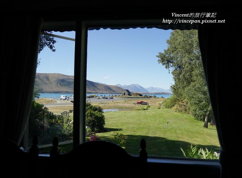 窗戶堤卡波湖