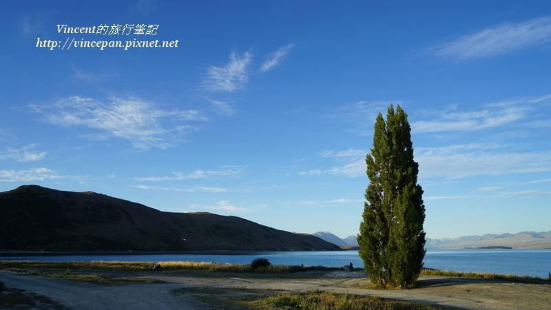 堤卡波湖邊 約翰山