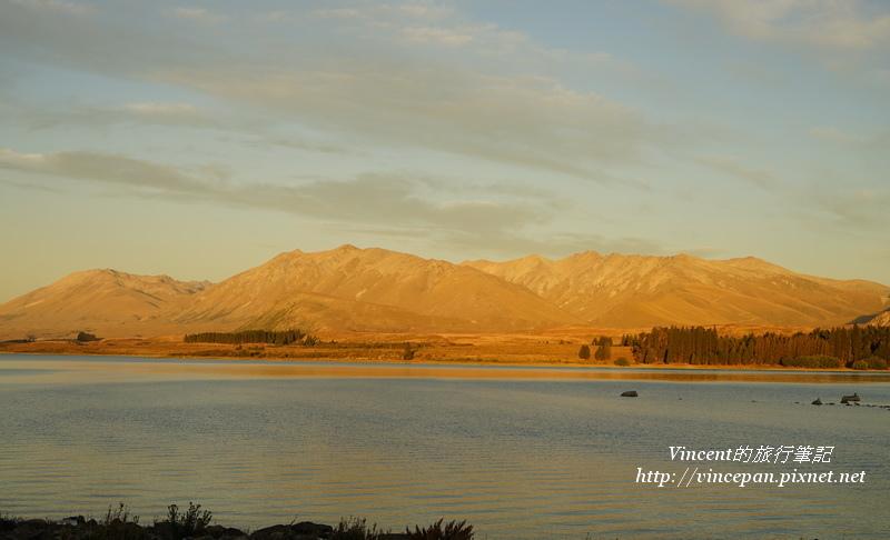 堤卡波湖夕陽2