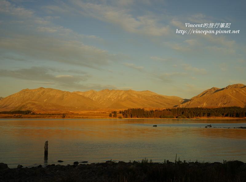 堤卡波湖夕陽1
