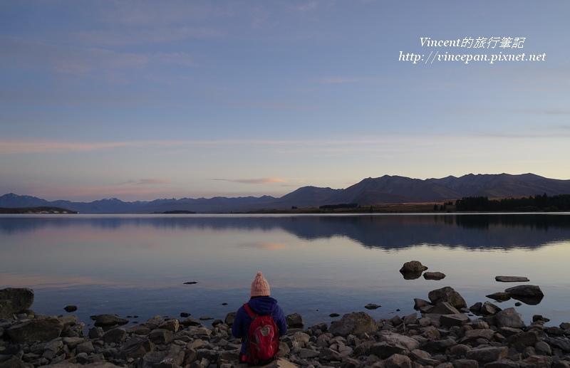 堤卡波湖早上