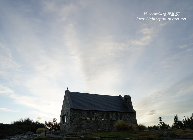 Church of the Good Shepherd sunrise